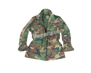 field jaket woodland
